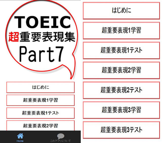 TOEIC 超重要表現集Part7