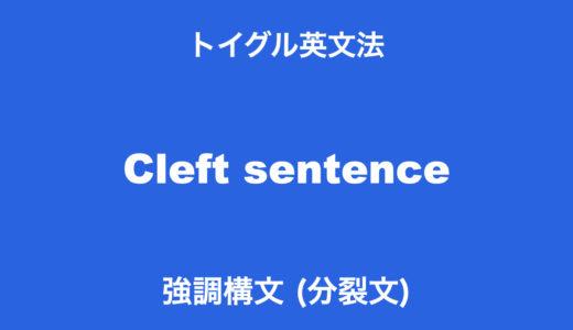 英語の強調構文とは?it強調構文とwhat強調構文の使い方をわかりやすく説明
